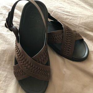 Men's FitFlop Brand Sandal Shoe Leather